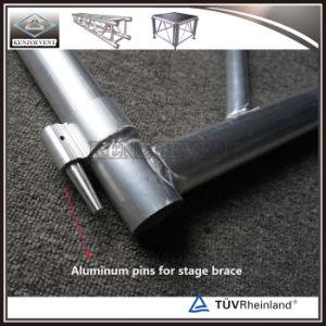 Fase di alluminio del Portable della fase di concerto della strumentazione esterna della fase