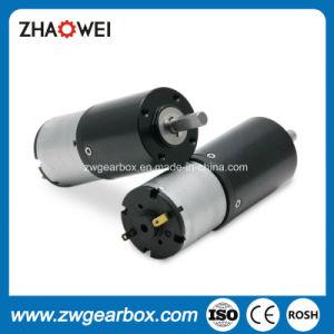 Micro de 28mm de diámetro 12V/24V PMDC Motor de engranajes planetarios
