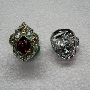 Joyas Vintage de piedras preciosas Juego de anillo de dama