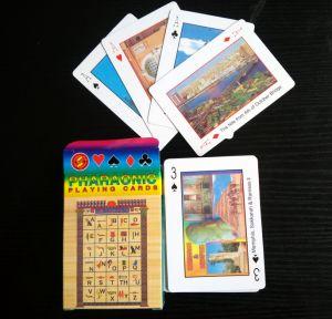 Regalo promocional personalizado papel Naipes/Poker/Plástico/PVC/Tarot/Tarjetas de juego