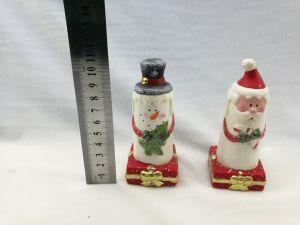 De Kaars van &Santa van de Kaars van de Sneeuwman van de Decoratie van Kerstmis