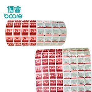 La comida/Medical Material de embalaje de papel de aluminio para toallitas toallitas húmedas y secas en el rollo