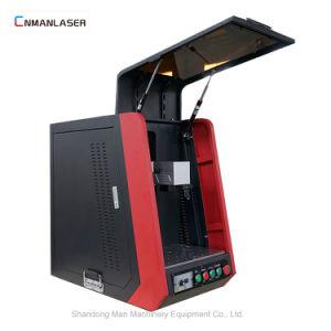 De volledige Ingesloten Mobiele Laser die van de Vezel van de Desktop de Machine van de Gravure merken