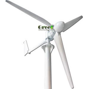 Langsame, niedrige U-/Minhorizontale Mittellinien-Wind-Turbine für Dachspitze