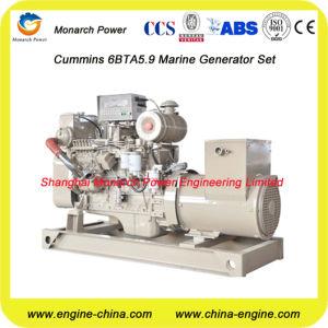 80kw/100kVA Marine Main Generator durch Cummins 6BTA5.9-GM100