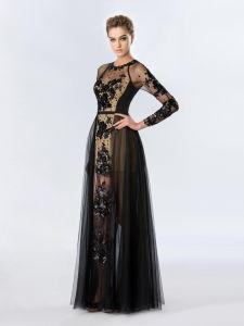 De elegante Dames vormen Avondjurk Prom