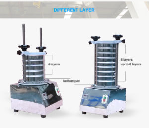 laboratorio automatico dell'acciaio inossidabile di 200mm che setaccia macchina