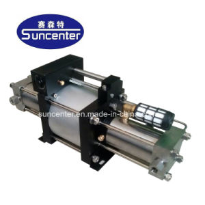Suncenter 80MPaの高圧ガスの増圧ポンプ