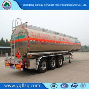 de Brandstof van de Legering van het Aluminium van de As 40000L 3 van 4060cbm/de Semi Aanhangwagen van de Tanker van de Benzine/van de Diesel