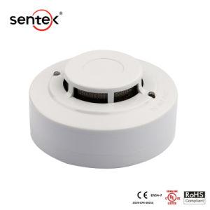 OEM ODMのULの証明2/4ワイヤー火災報知器の証明2か4ワイヤー機密保護の警報システムが付いている慣習的な光電煙探知器の電気煙探知器