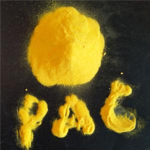 Het lichtgele Chloride PAC 28%-31% van het Poly-aluminium voor de Behandeling van het Water