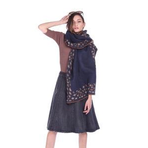 熱い項目Scarf販売のためのカシミヤ織によって編まれる女性2017新年の製品の