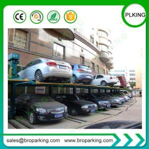 ヨーロッパのガレージのための標準油圧合接された2つのポストの駐車上昇