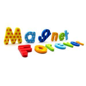 Bonitinha EVA Carta Font Frigorífico Magneto de ferrite