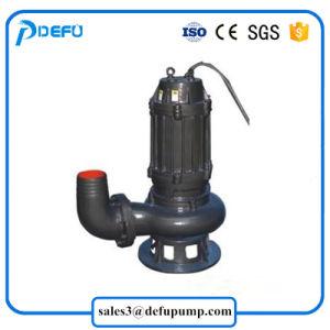 Non-Clog sumergible de aguas residuales de la bomba de agua sucia con la alta temperatura