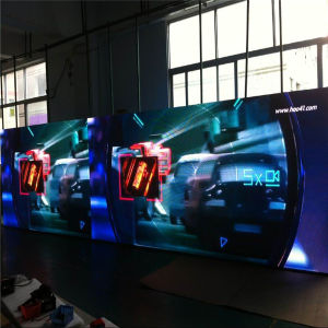 P5 Programme dirigé par affichage LED 5mm de hauteur de pixel affichage LED