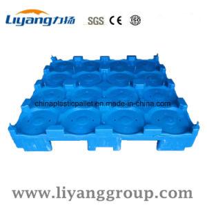 Único Lado 5 Galão de plástico Palete Clapboard Garrafas de água