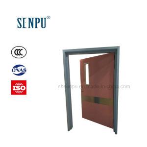 Utilisation de l'hôpital de l'acier propre panneau de porte à porte en acier avec Vision