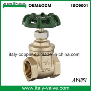 Горячая продажа латунные налаживание 300wog запорный клапан (AV4047)