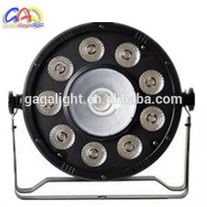 Os PCS 9*9W 3NO1+1PCS COB China RGB LED PAR/ Alto Brilho COB luz PAR LED