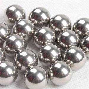 As esferas de aço cromado sólido de fornecimento de peças para veículos automóveis