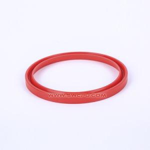 Moldados personalizados de borracha de silicone de alta temperatura o anel de vedação para a Bomba