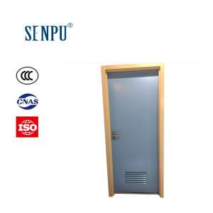 Utilisation des toilettes Cadre en acier avec porte en acier aveugle
