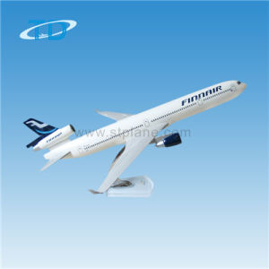 Finnair Md11の表示は金属の記念品を模倣する