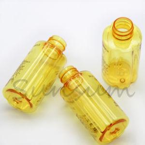 Nouveau moule de petite taille de couleur jaune ambré Pet Bidon de toner