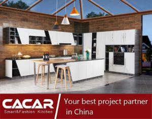 2018 Venta caliente moderno gabinete para cocina con cubierta de la gama