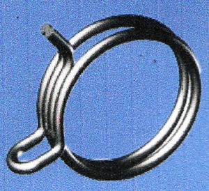 Schlauchklemme - doppelter Draht-Typ/Kohlenstoffstahl oder Edelstahl