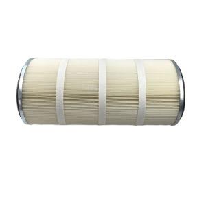 폴리에스테르 막 공기 정화 장치에서 긴 섬유 필터 카트리지