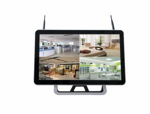 4CH IP van de Veiligheid van de Uitrustingen van WiFi 720p de Draadloze Systemen van de Camera met NVR 21.5 Duim LEIDENE Monitor