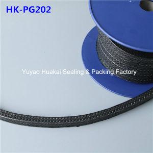 L'usure mécanique résistant imprégnés d'emballage d'étanchéité de la glande de graphite en PTFE