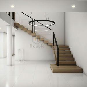 2019 Nouvelle conception des escaliers moderne en verre /balustrade ...