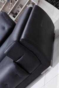 2019 Último projeto sofá de couro seccional sofá de canto moderno salão Canto Contemporâneo Suites sofá de canto em pele genuína
