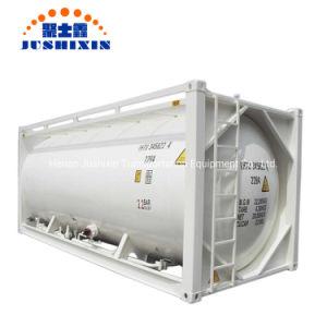 40FT 20FT 22.5/29/29,5CBM ISO do carvão a granel de transporte/cimento/Gesso/ZnO/Pó Znic Navio de armazenamento portátil de aço recipiente dos tanques de carga
