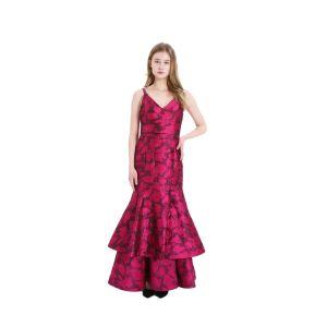 2020 Les nouveaux arrivants jacquard de haute qualité sexy robe de fête élégante robe du soir pour la femme