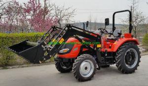 China 60Cv 4WD Tractor agrícola compacto agrícola