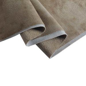 Fabriek 100 van de Textiel van de stof Stof van het Fluweel van de Polyester de Super Zachte In reliëf gemaakte voor de Stoffering van de Bank
