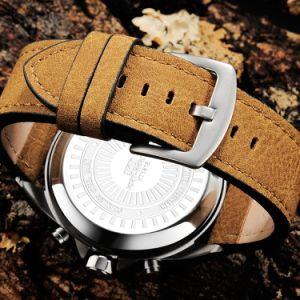 De Gift van Mens van de Mens van horloges let op het Digitale Kwarts Custome van de Horloges van de Kwaliteit van het Horloge de In het groot Sporten op Zwitsers Horloge letten