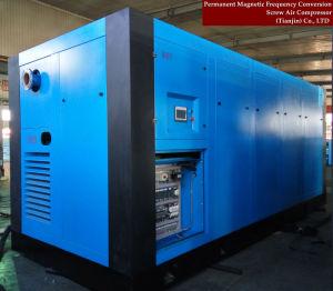 L'air à haute efficacité de refroidissement du compresseur d'air rotatifs à vis