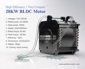 1,5 kw 3kw 5kw 10kw 20kw sin escobillas de CC Motor eléctrico para coche, barco y Motorcyle