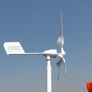 600W de micro- Turbine van de Wind voor Hybride Straatlantaarn