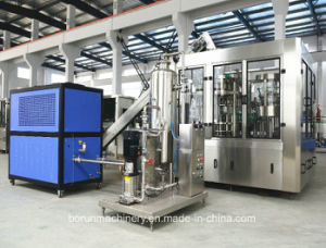 De aangepaste Automatische Sprankelende Bottelmachine van het Sodawater/het Vullen van de Drank Machine