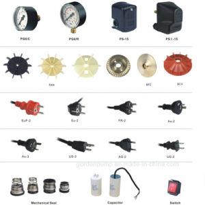 Pompa ad acqua centrifuga autoadescante elettrica del collegare di rame con il contenitore di interruttore