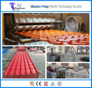 PVC+ASA Co-Extrusion résistante aux intempéries et résistance chimique tuile de toit Making Machine