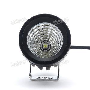 3inch 12V 15Wの補助クリー族LEDの単一の球根作業ランプ