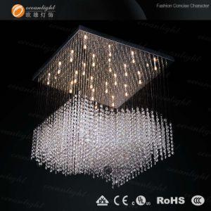 Lustres de cristal iluminação pendente (OAL002)