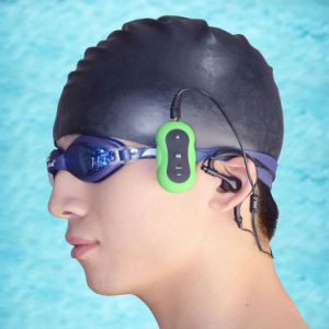 Leitor de MP3 desportivo com 2GB Wrap-Around fones de ouvido sem fio